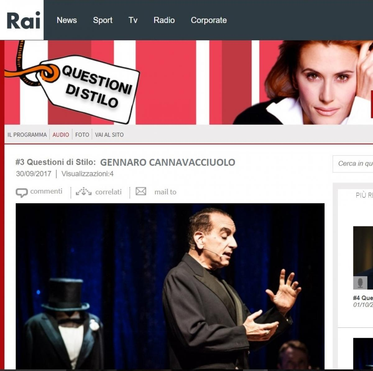 Blog – intervista per Radio Rai