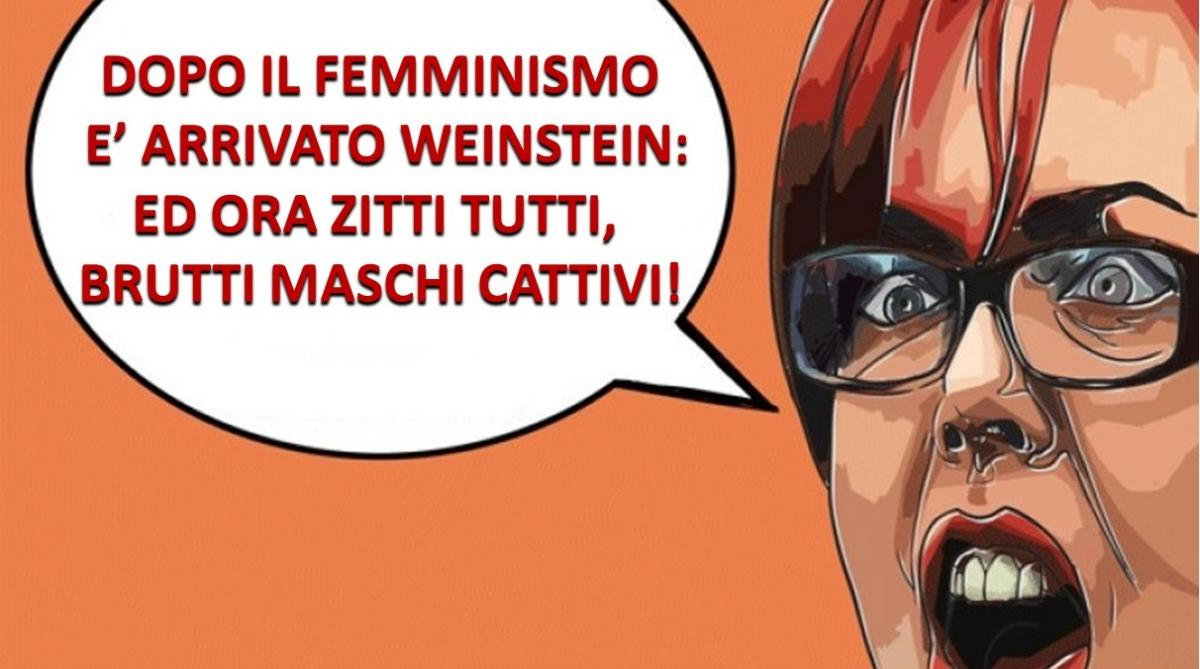 Blog–Weinstein, femminismo e tifoserie