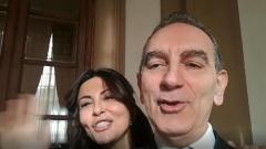 Un video-saluto da Sabrina Ferilli e Gennaro per Gianni